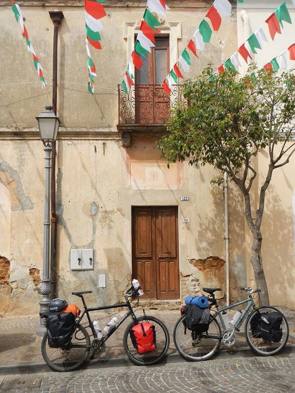 Exploring Sardinia by bike