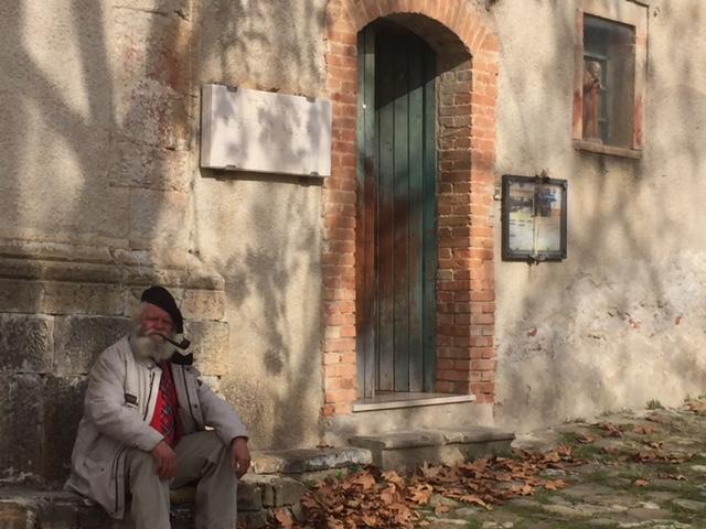 Guiseppe Spagnuolo in Roscigno Vecchia