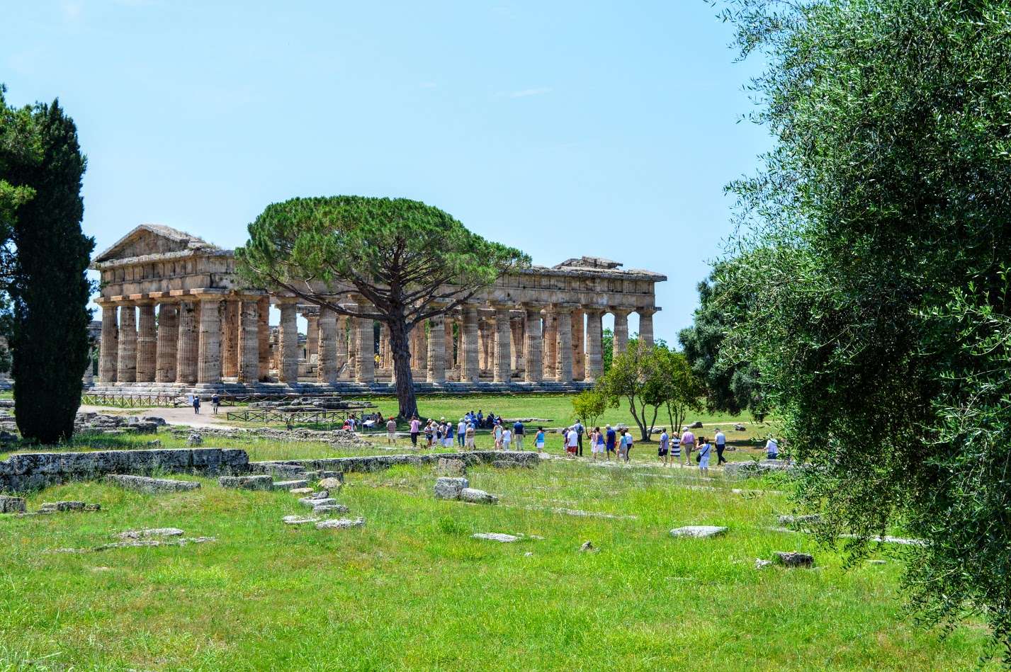 Paestum - an ancient Greek city lost for thousands of years.