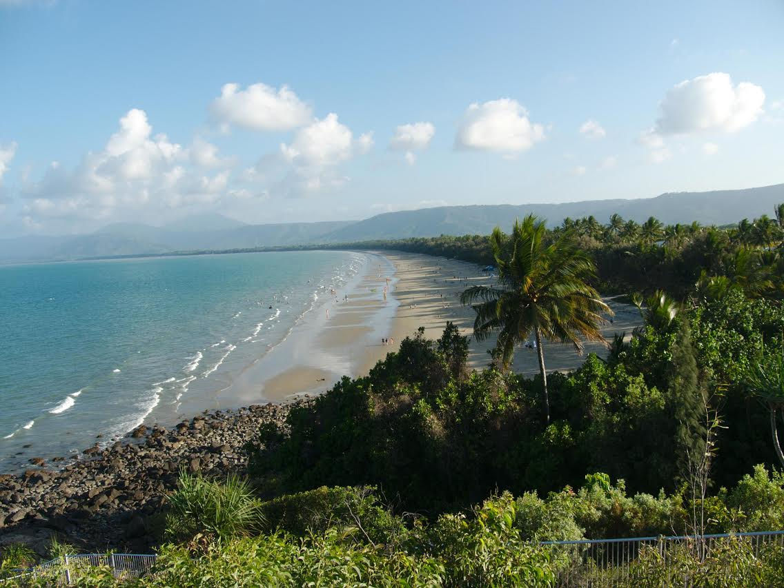 View of Port Douglas from the hill