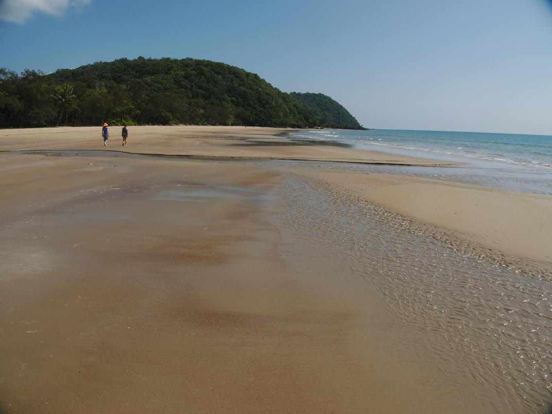 Beach in Cape Tribulation