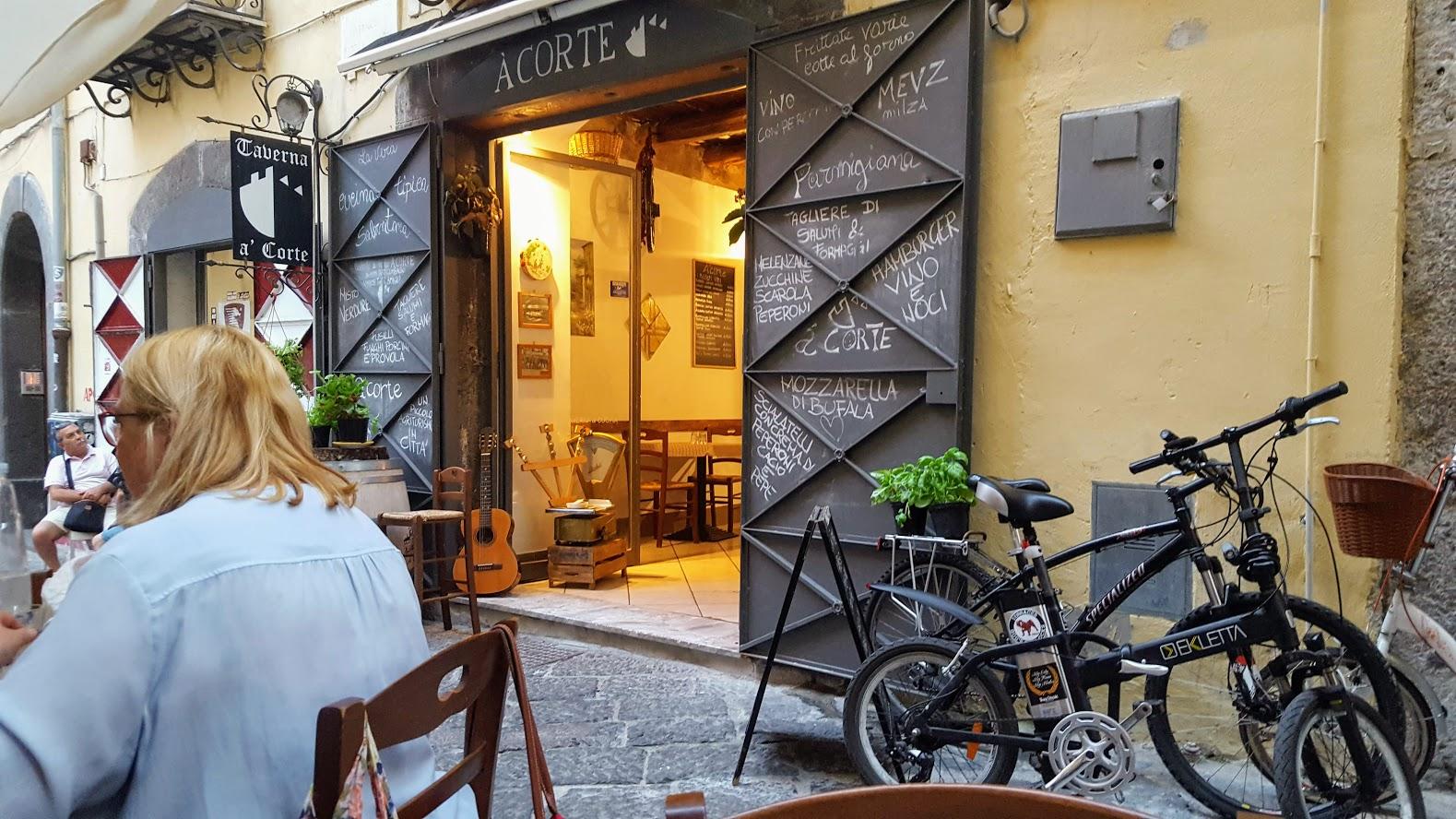 A Corte Restaurant, Salerno