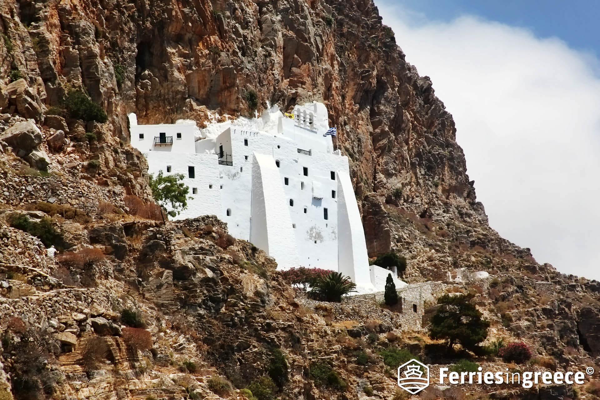The Monastery of Hozoviotissa, Amorgos, Greece