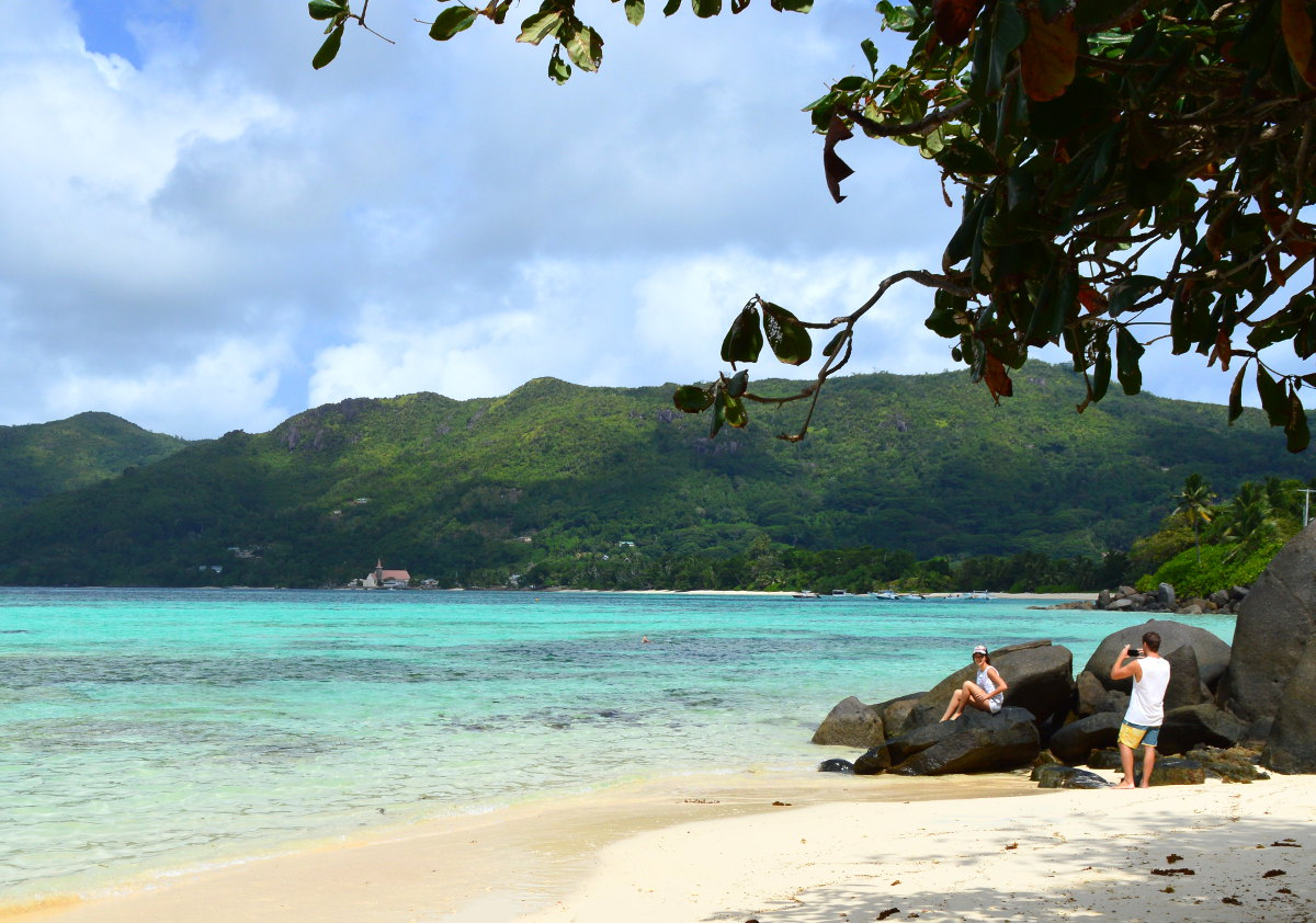 Beach in the Seychelles