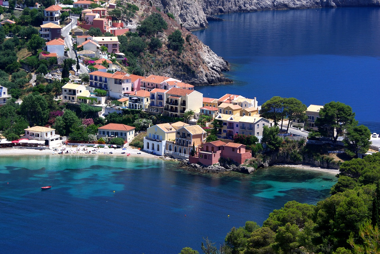 Assos on Kefalonia