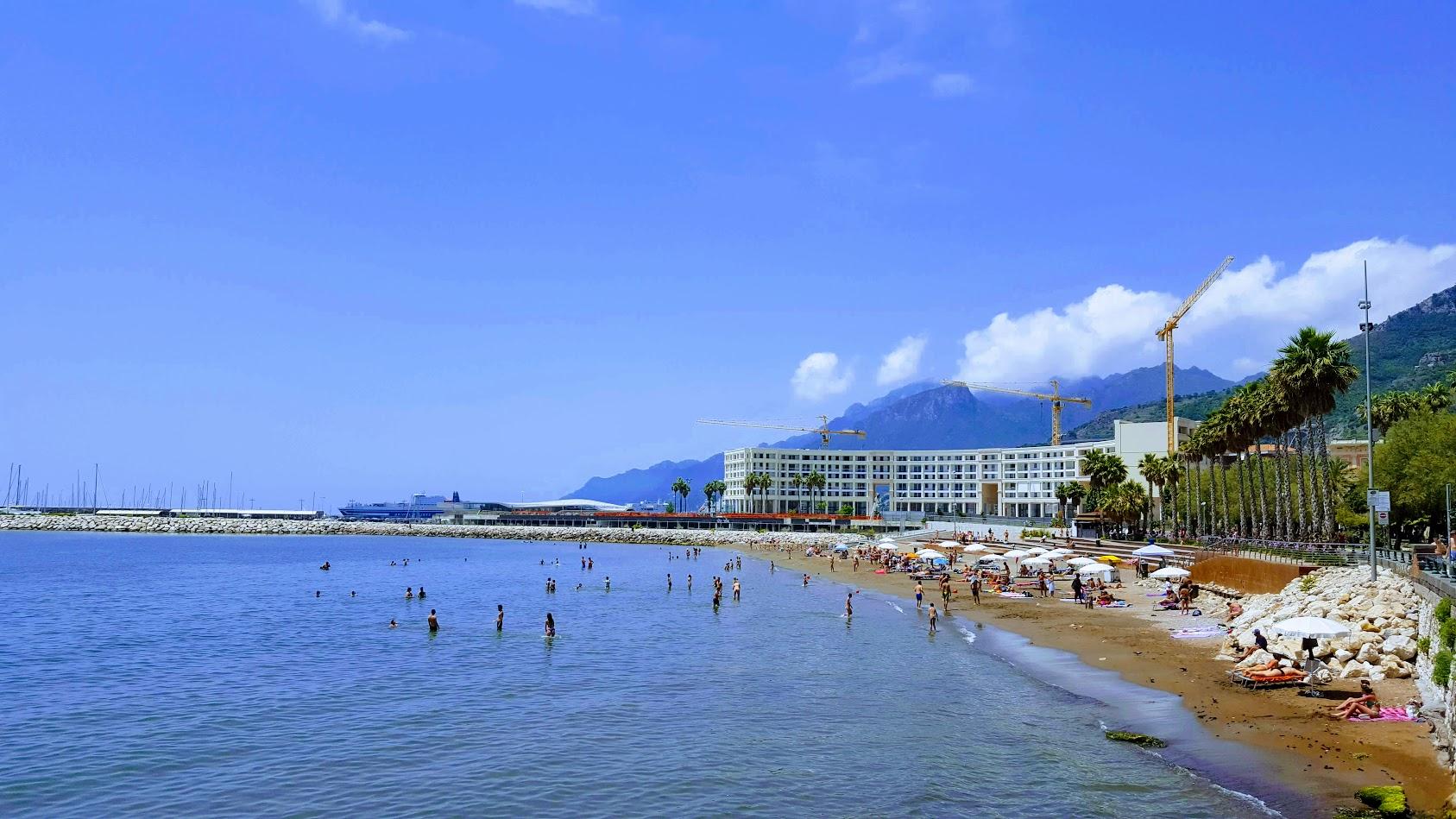 Beach in Salerno