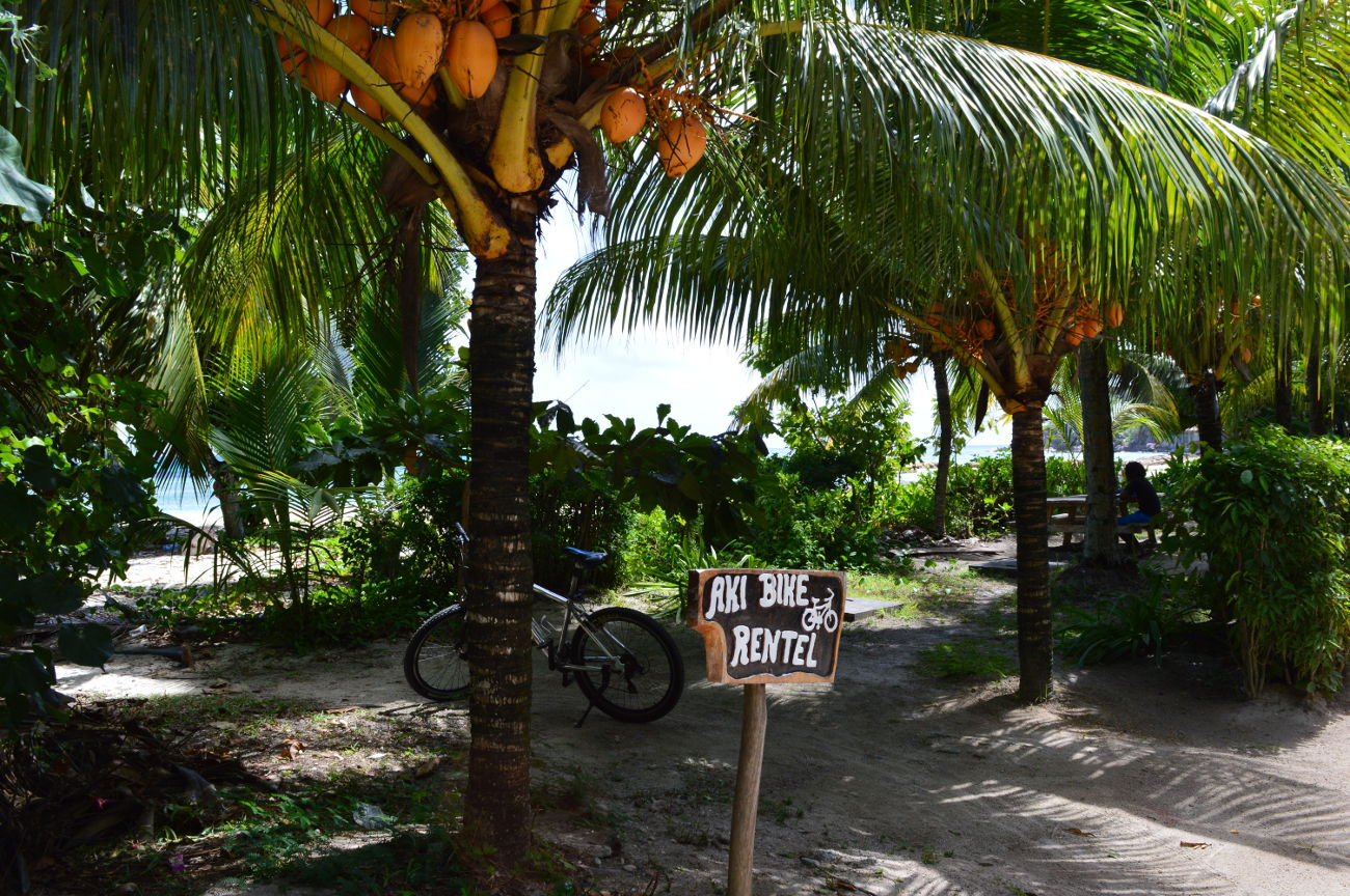 Bike Rental on La Digue
