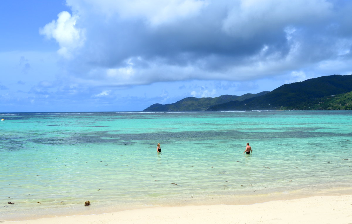 Sea in the Seychelles