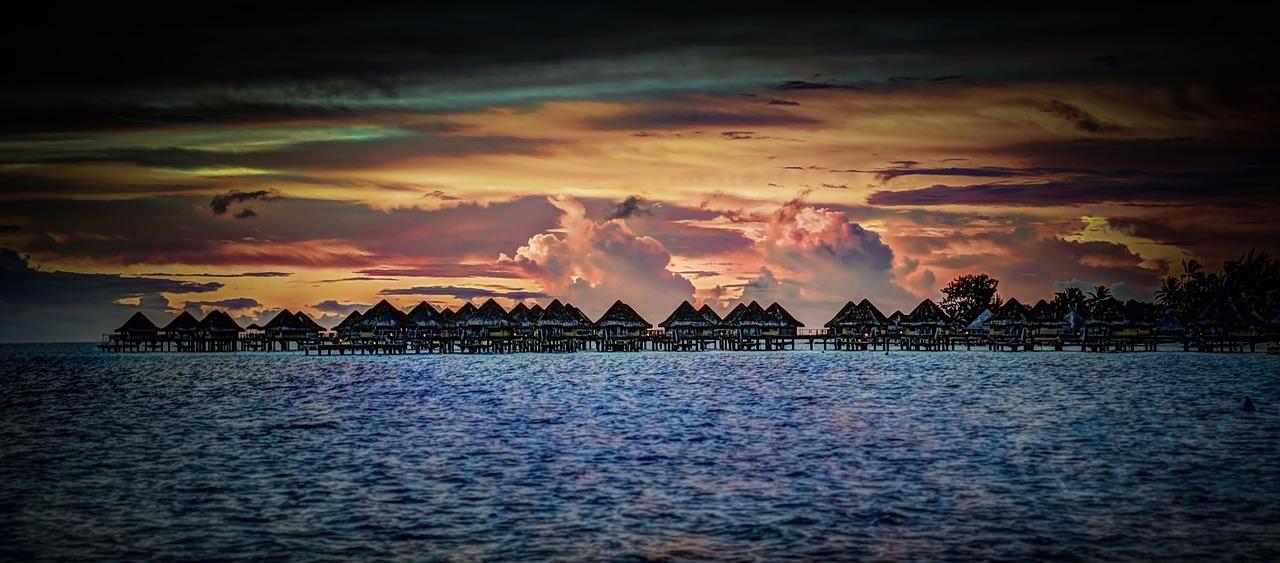 Sunset - Society Islands