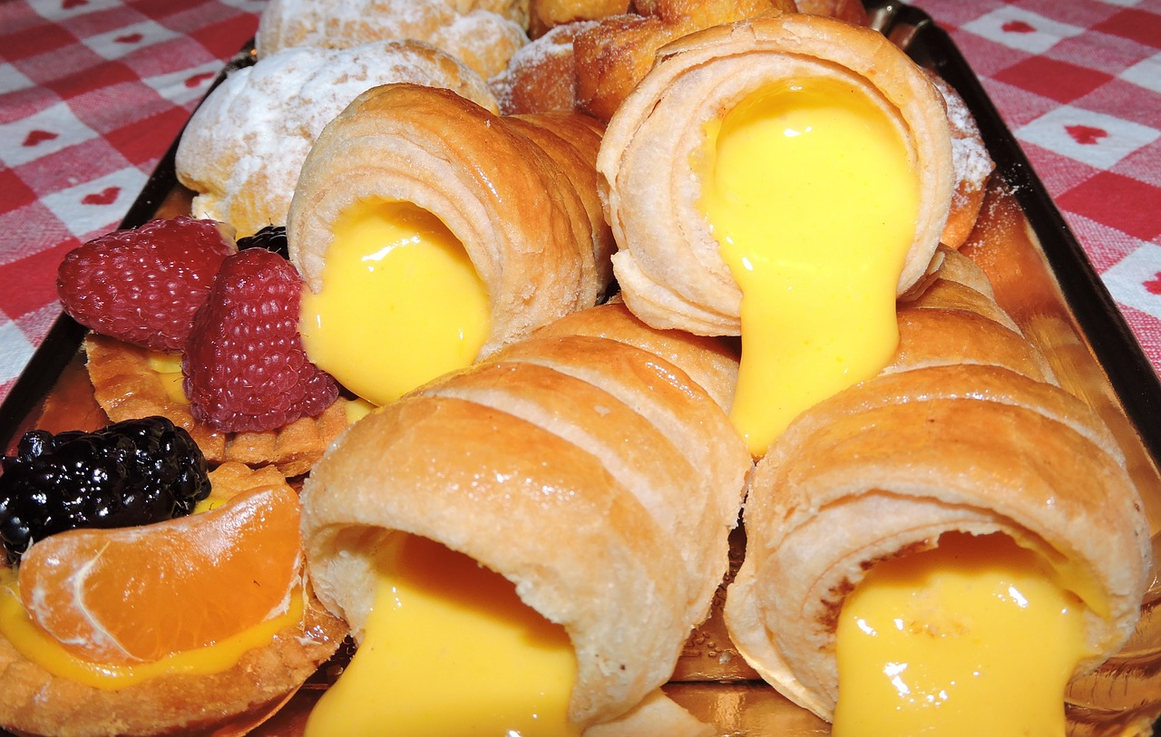 Pastries in Italy