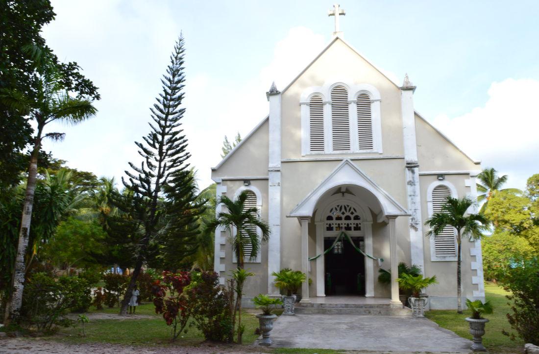 St Joseph's Catholic Church, Praslin Island, Seychelles