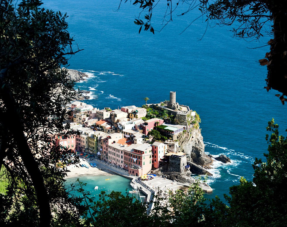 Vernazza seen from above