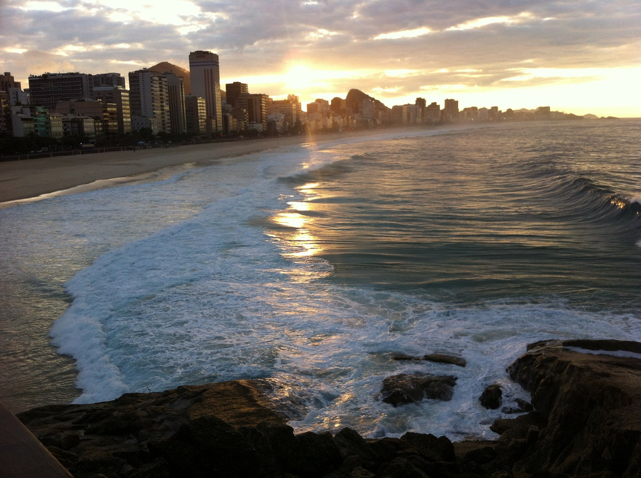 In What City Would You Find Copacabana Beach