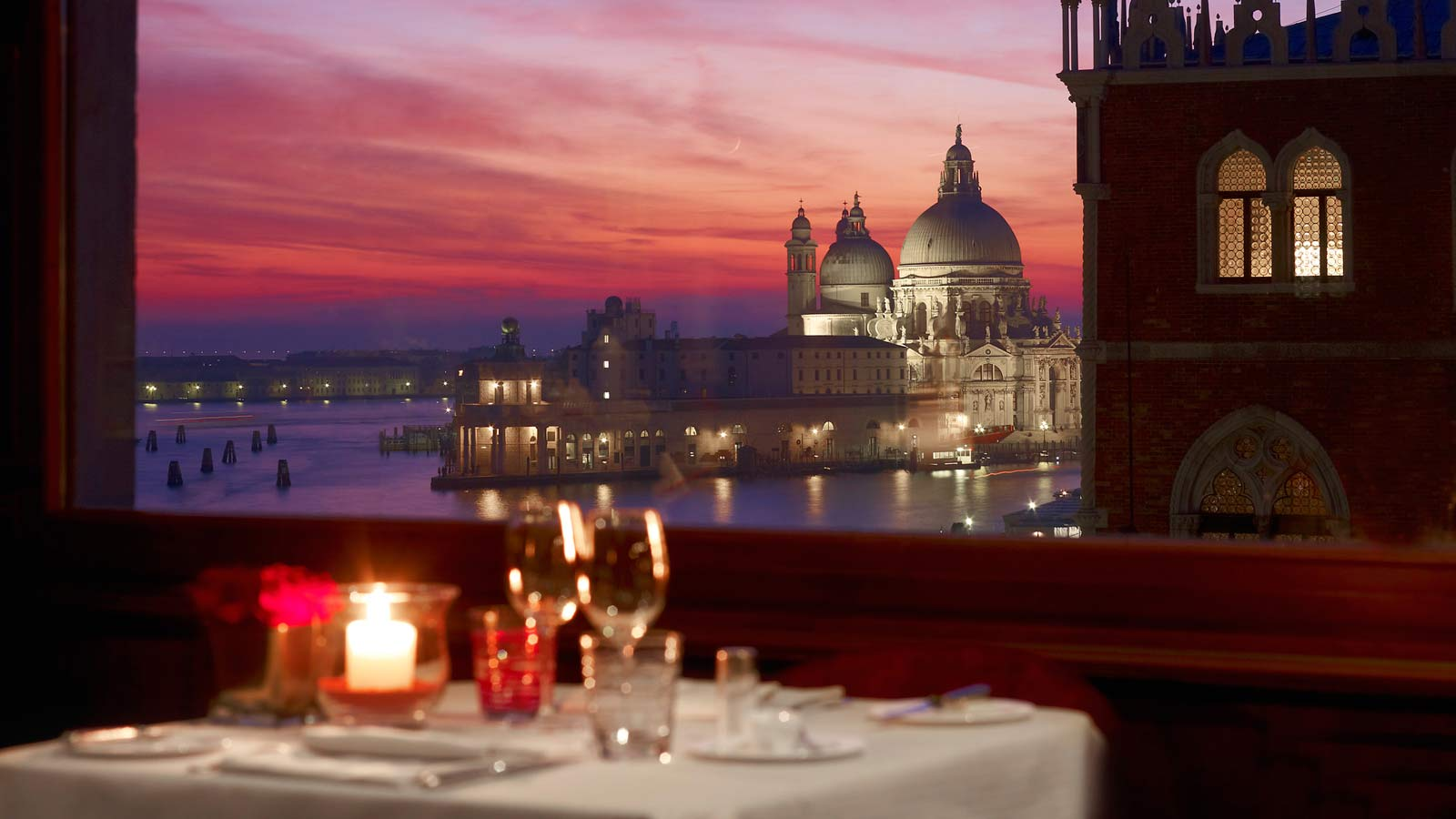Dinner at the Hotel Danieli