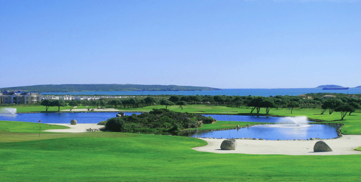 Golf in Langebaan
