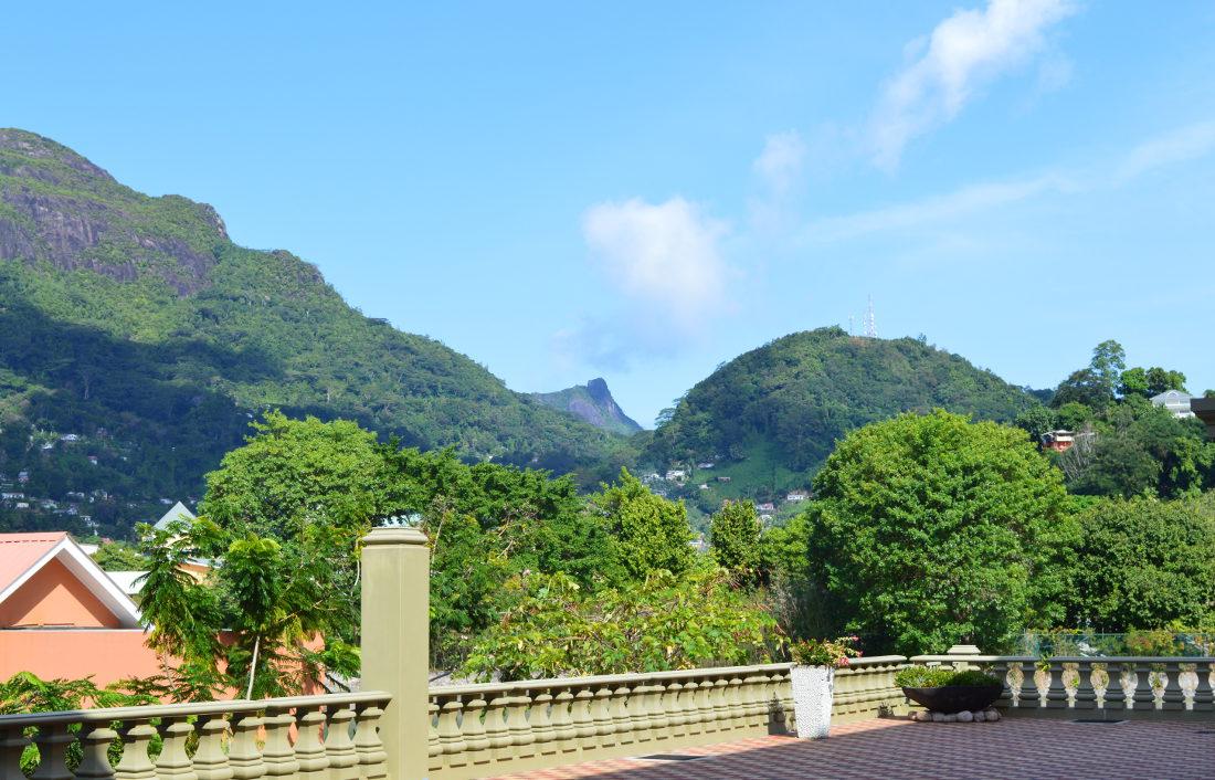 Hills around Mahe