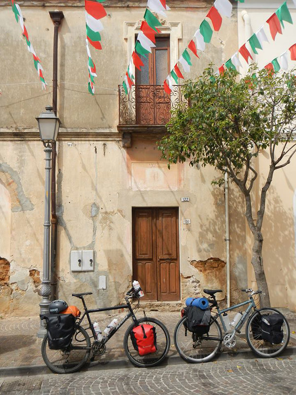 Exploring Sardinia by bike