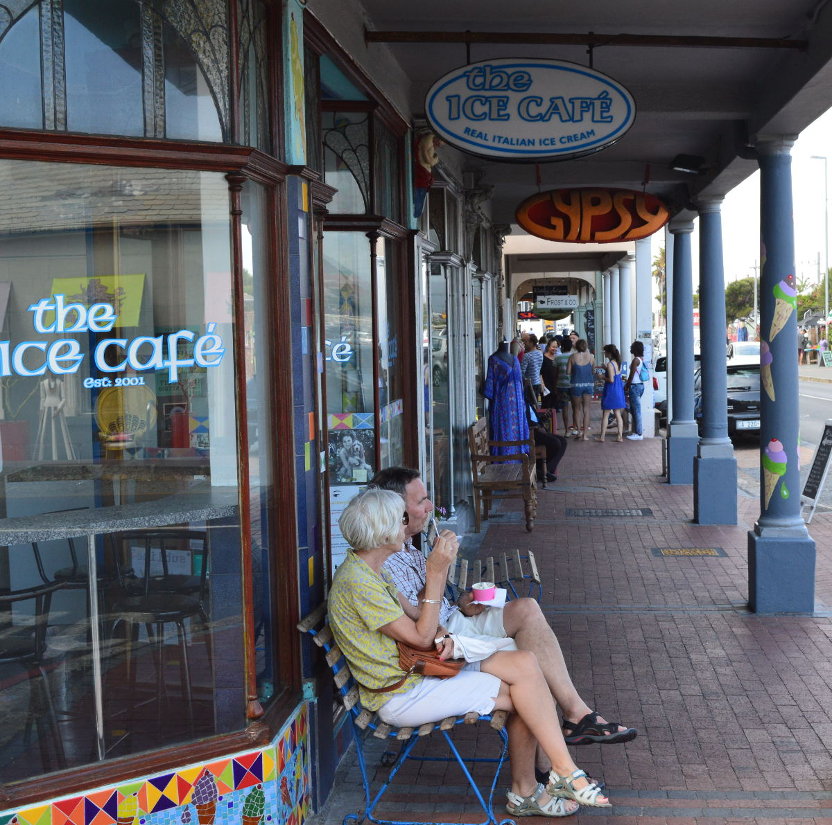 Ice Cream in Kalk Bay