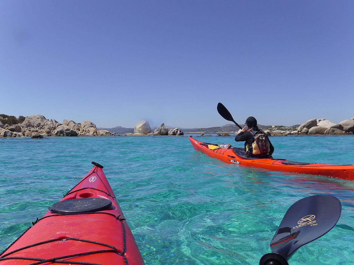 Kayaking in Sardinia