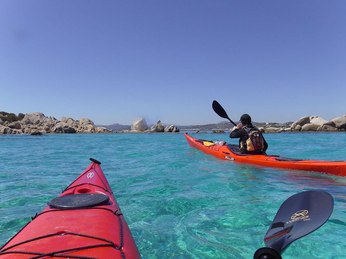 Kayaking in Sardinia
