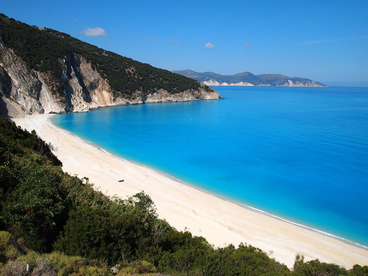 Beach of Myrtos