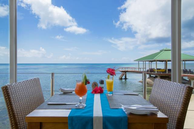 Breakfast in the Seychelles