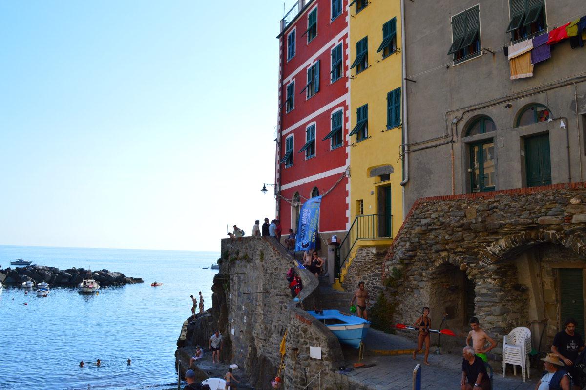 Boats in Riomaggiore