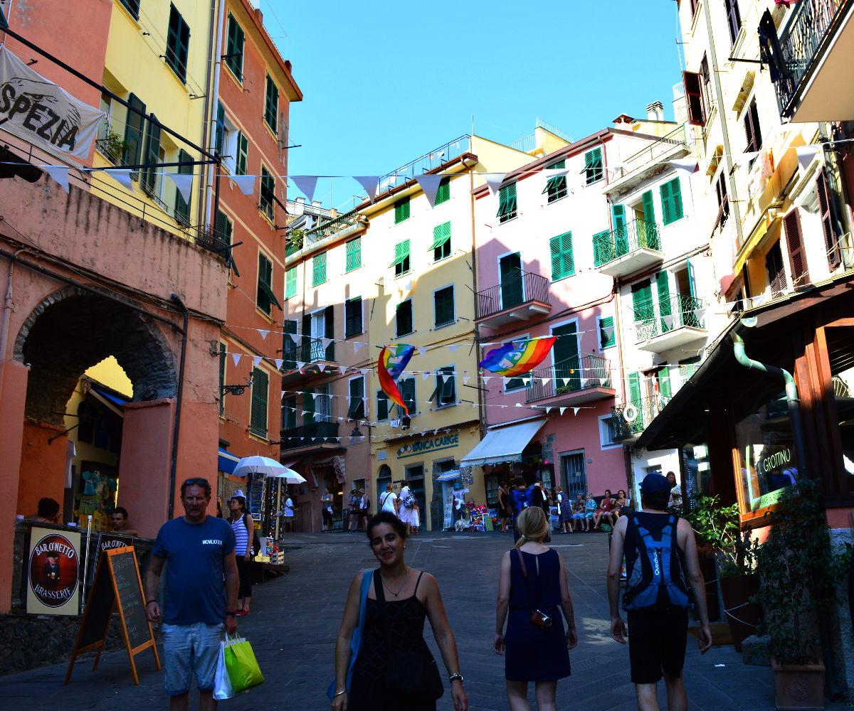 Summer in Riomaggiore