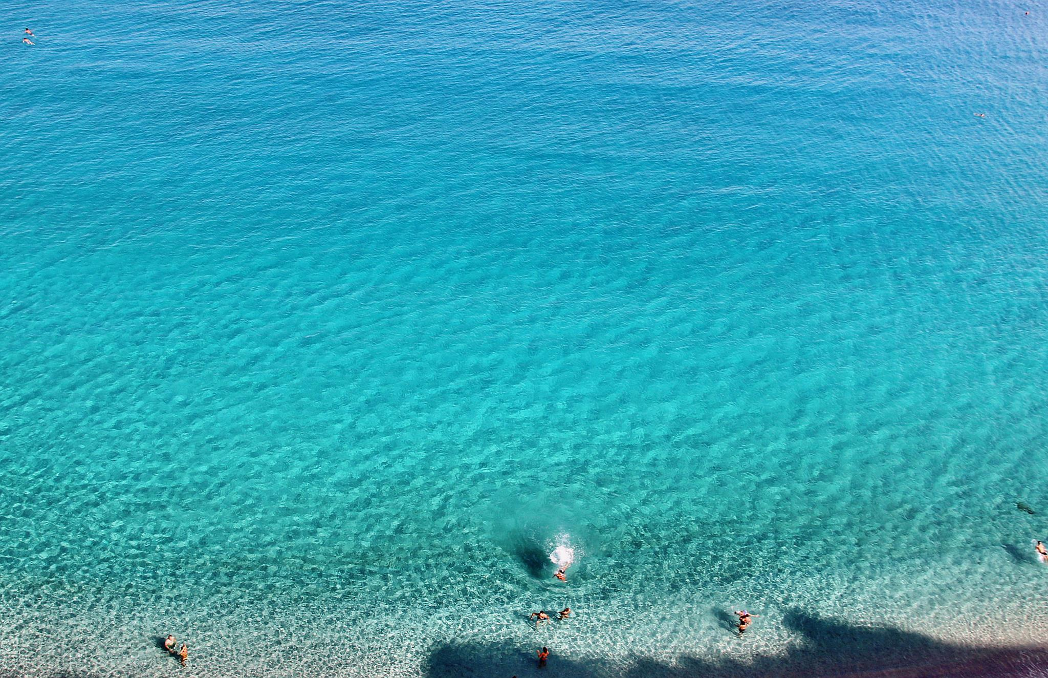 Seas in Calabria