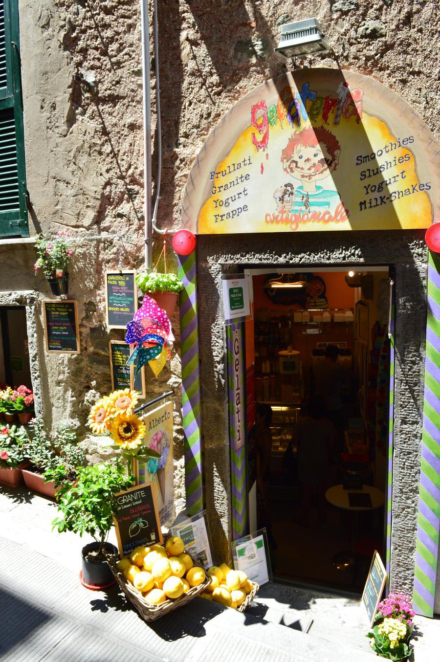 Italian Gelato Shop