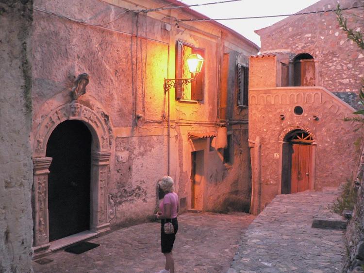 House in Italy, Scalea