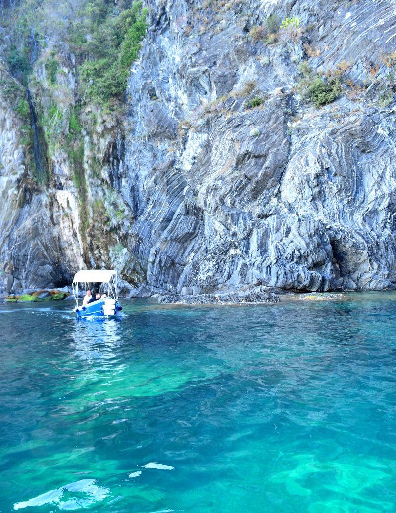 Sea swimming Cinque Terre