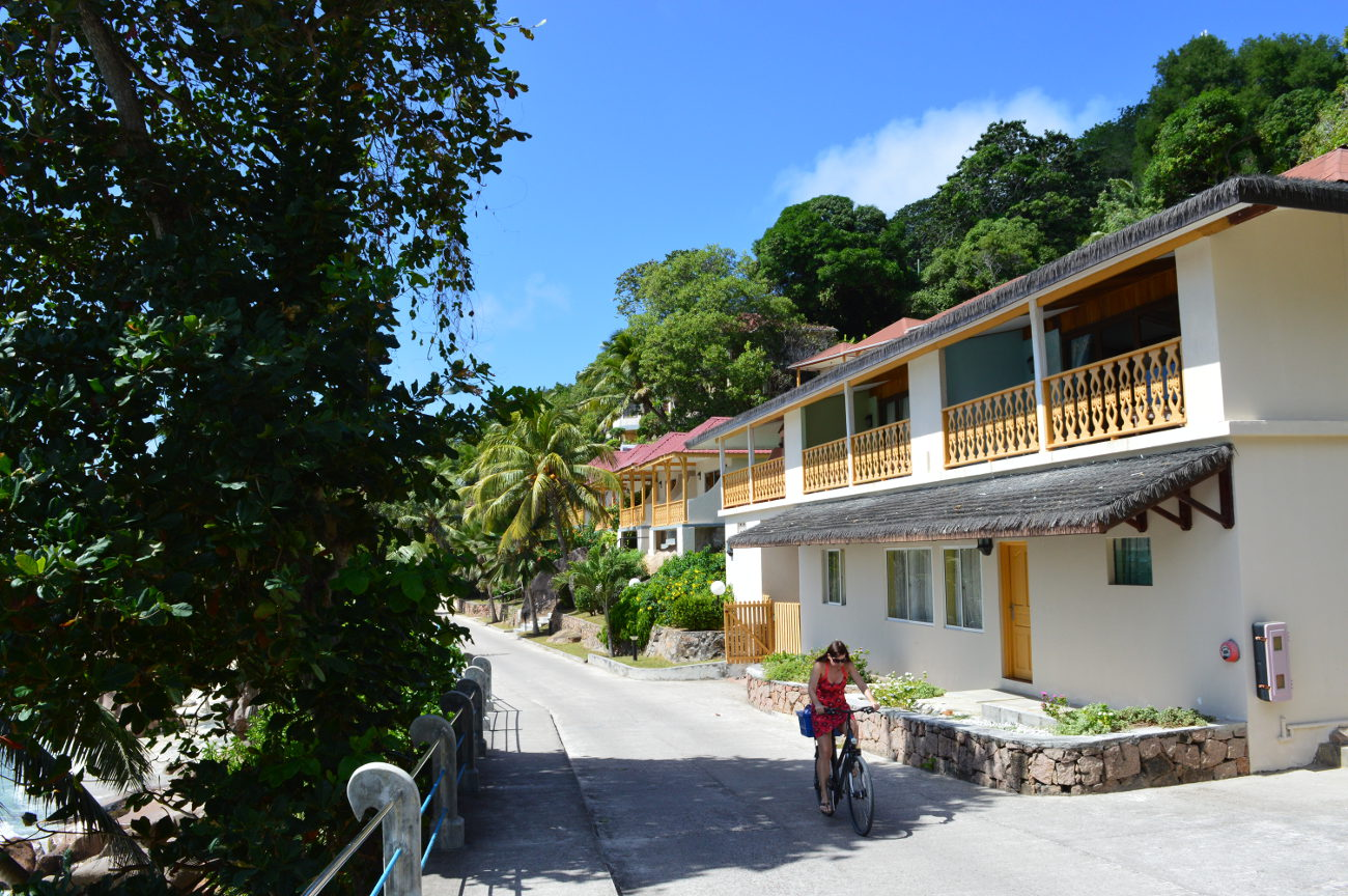 Cottages on La Digue