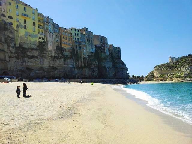 Beach in Tropea by Mimma Ruffa