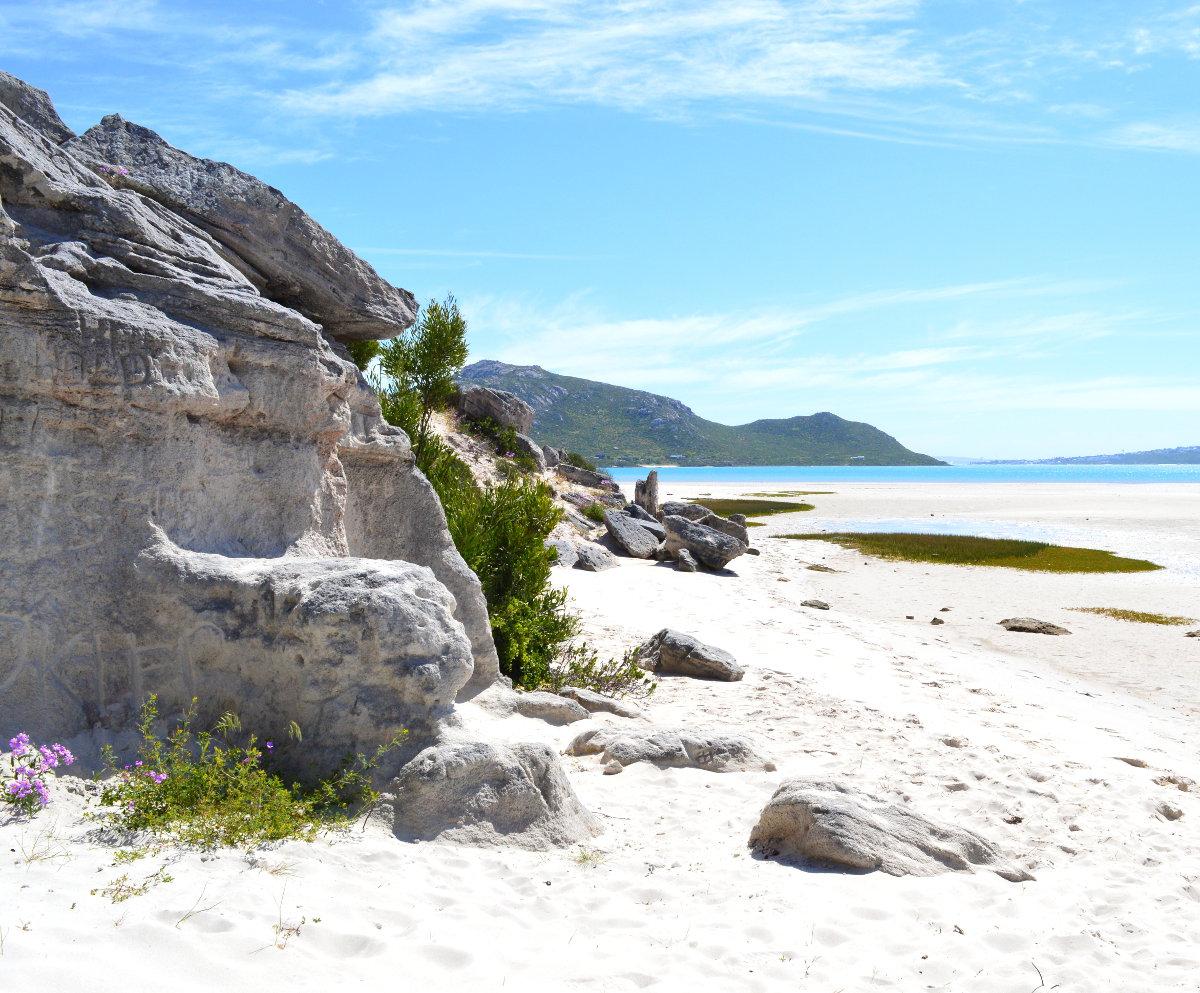 Soft sand on Tyrannasaurus beach