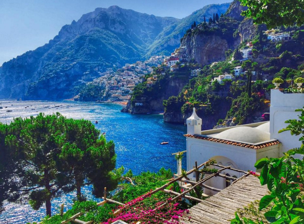 Looking towards Positano