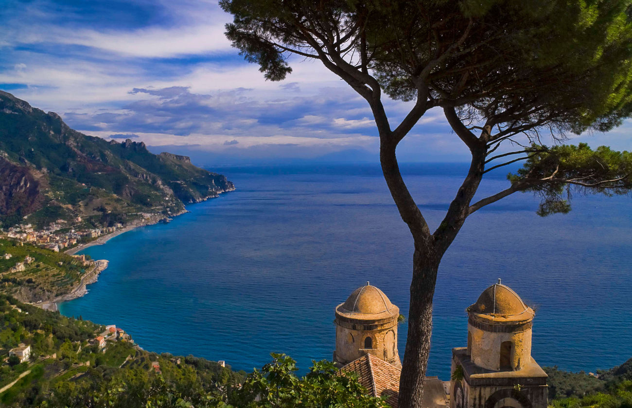 Amalfi from Ravello by Jim DeLutes