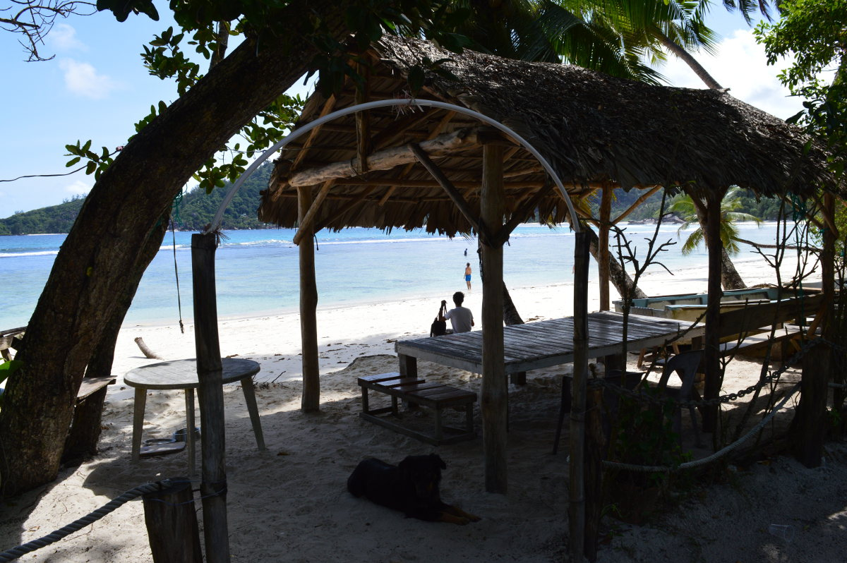 Beach Bar, Seychelles