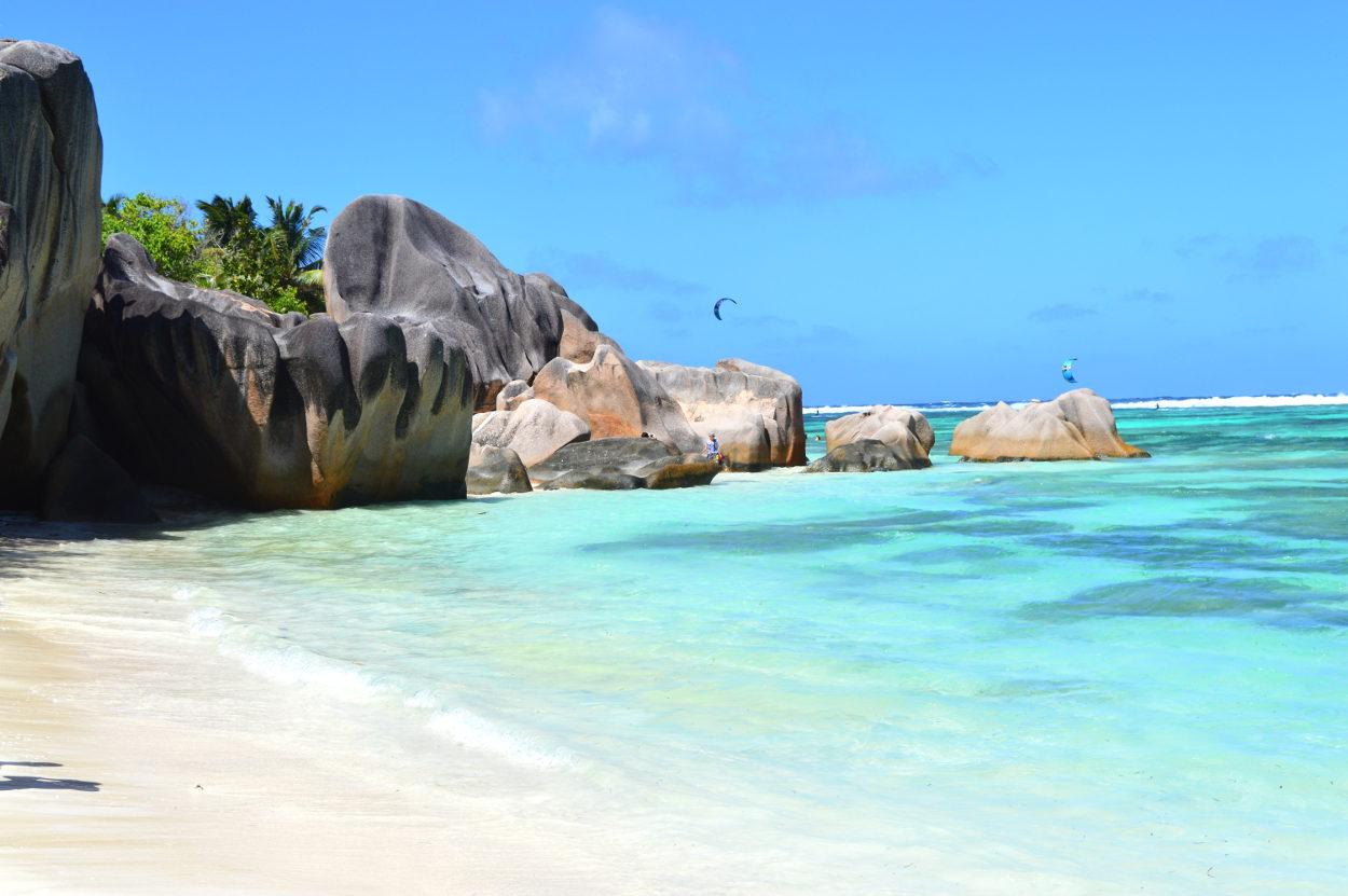 Granite boulders in the Seychelles