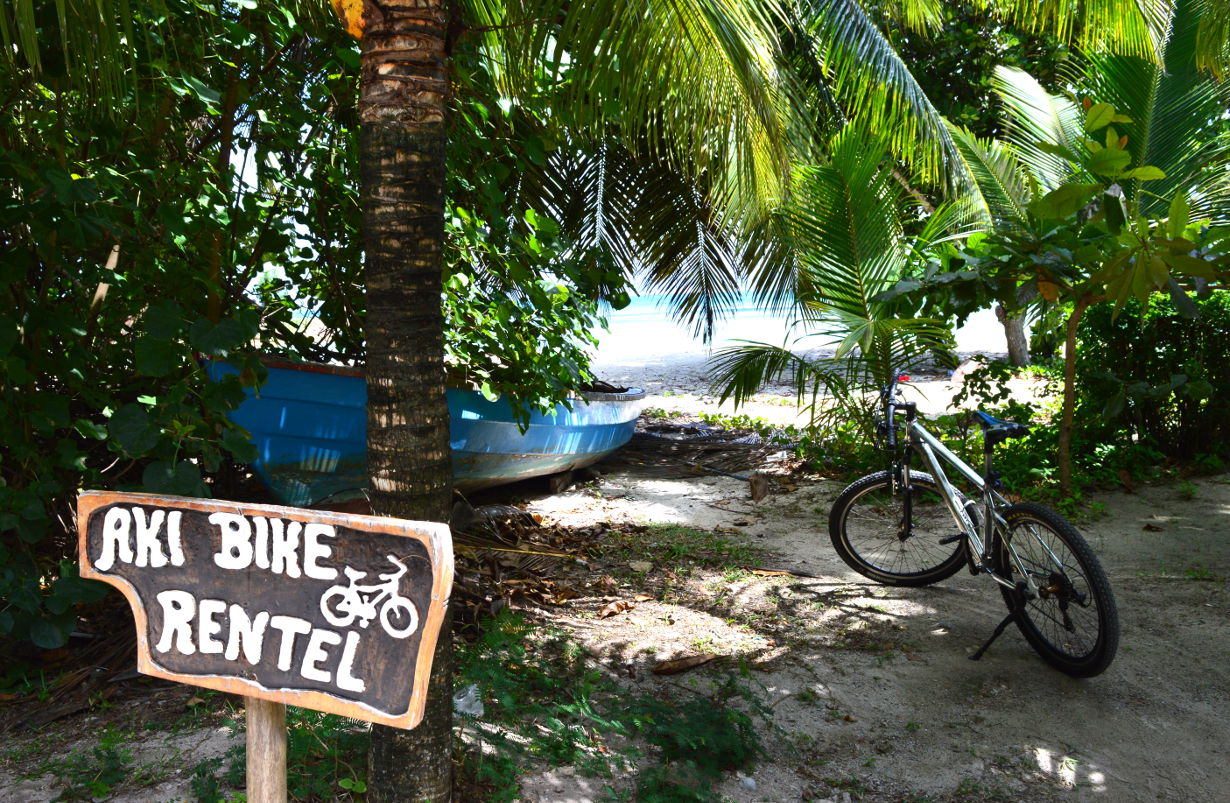 Bicycle La Digue