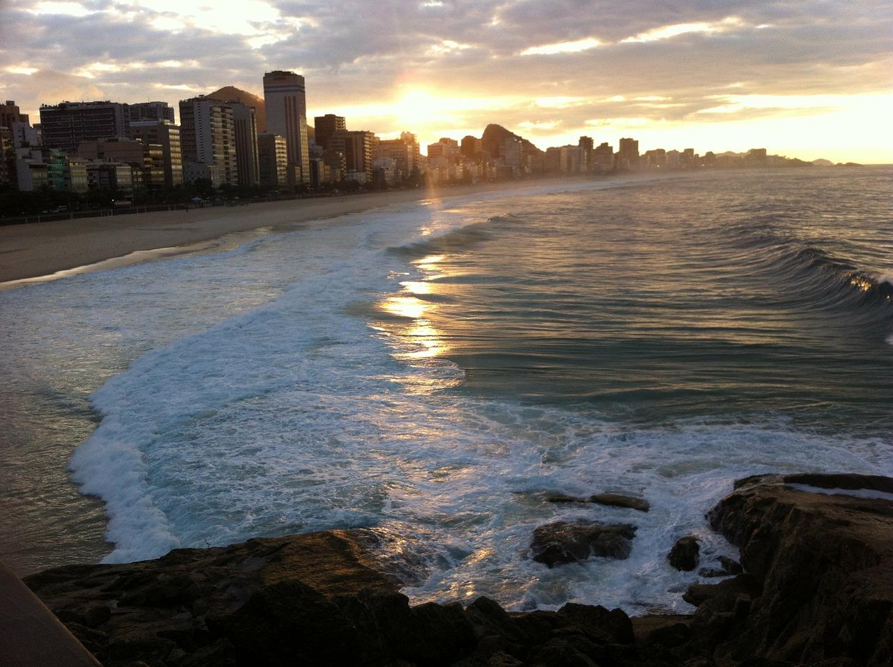 Copacabana Beach in Brazil