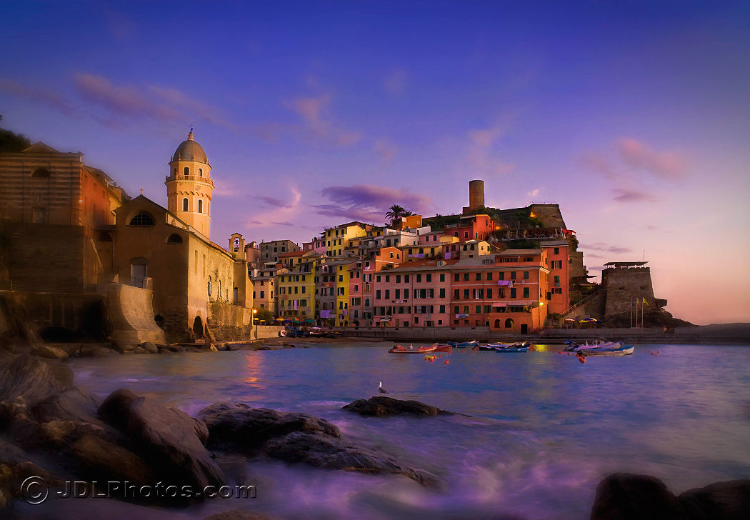 Vernazza by Jim DeLutes
