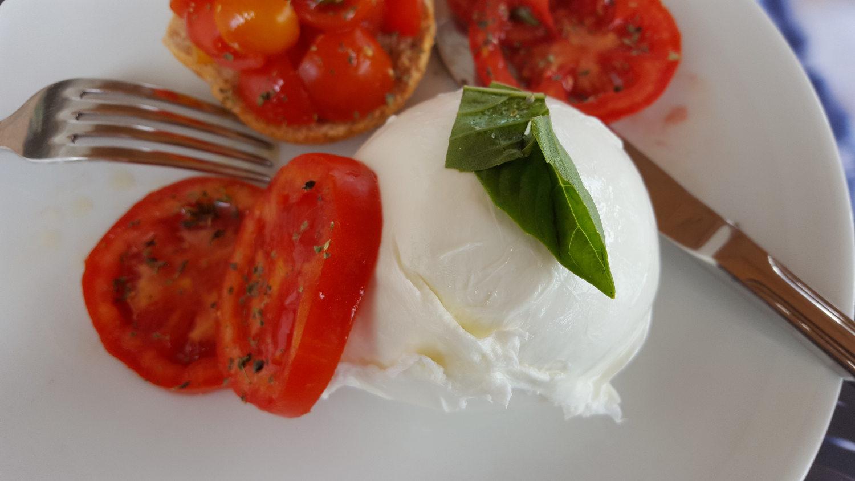 Caprese Salad with Buffalo Mozzarella