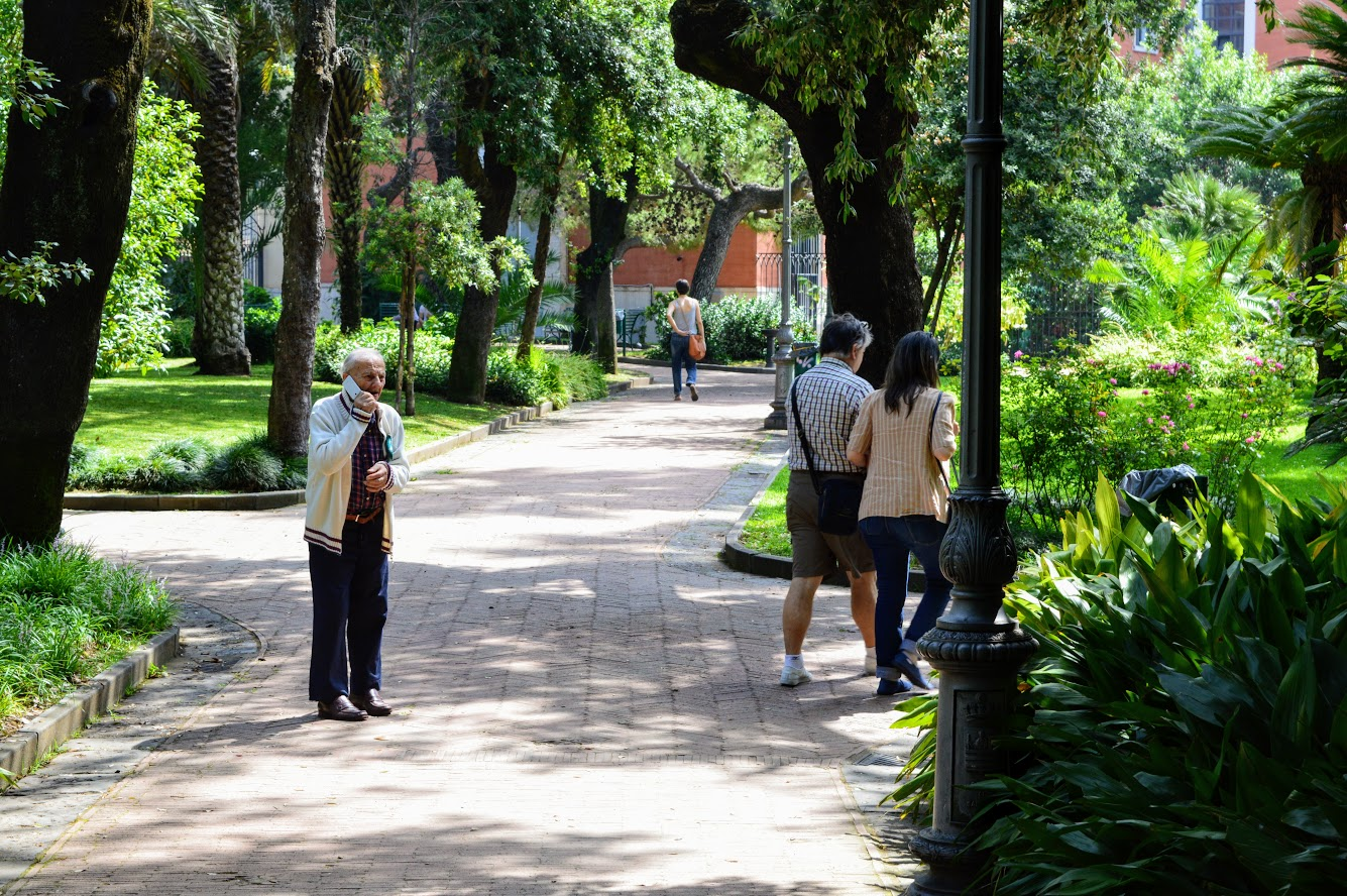 Park in Salerno