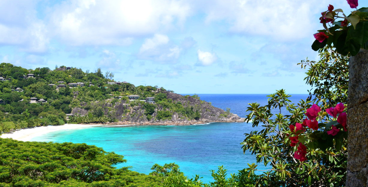 The most beautiful resort in the Seychelles