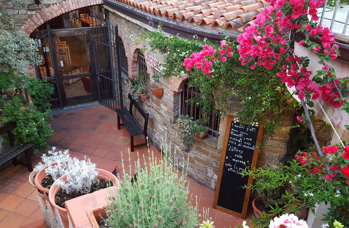 La Civetta Restaurant in Cilento