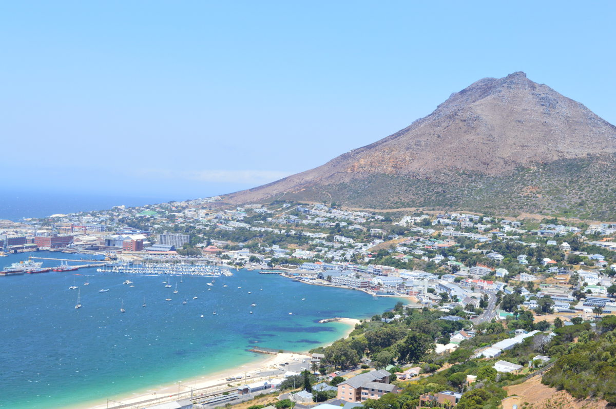 Arriving in Simon's Town