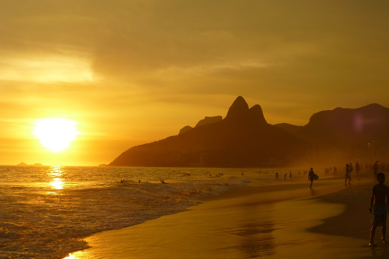 Beach in Rio