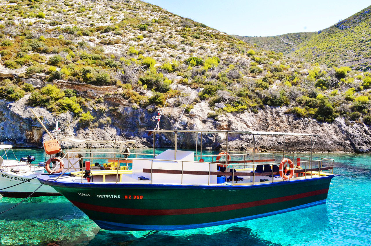 Greek Island by Boat